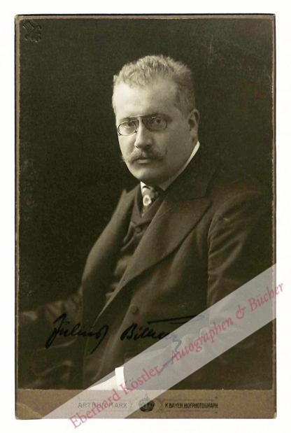 Bittner, Julius, Komponist (1874-1939).