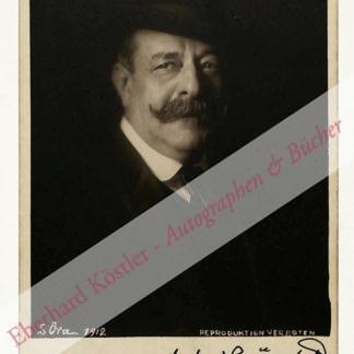 Grünfeld, Alfred, Pianist und Komponist (1852-1924).