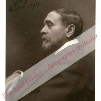 Hüe, Georges, Komponist (1858-1948).