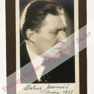 Jeremiás, Otakar, Komponist und Dirigent (1892-1962).