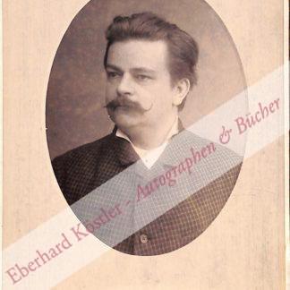 Klughardt, August, Komponist und Dirigent (1847-1902).