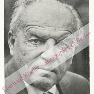 Krenek, Ernst, Komponist (1900-1991).