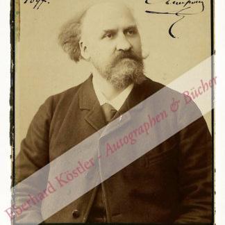 Lenepveu, Charles, Komponist und Musikpädagoge (1840-1910).