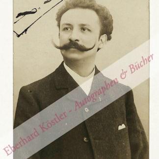 Leroux, Xavier, Komponist (1863-1919).