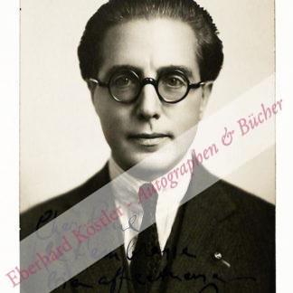 Nin y Castellanos, Joaquín, Pianist und Komponist (1879-1949).