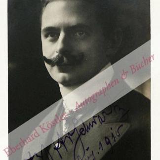 Schwartz, Otto, Komponist (1872-1940).