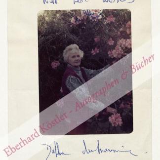 Du Maurier, Dame Daphne, Schriftstellerin (1907-1989).
