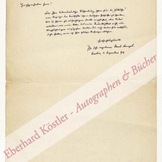 Frenzel, Karl, Schriftsteller (1827-1914).