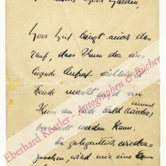 Boetticher, Hermann von, Schriftsteller (1887-1941).