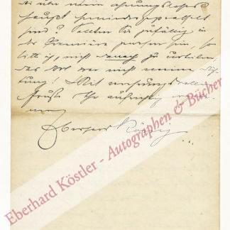 König, Eberhard, Schriftsteller (1871-1949).