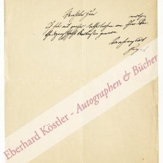 Geiger, Ludwig, Literaturhistoriker (1848-1919).