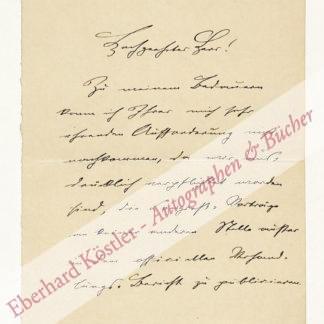 Goldscheider, Alfred, Mediziner (1858-1935).