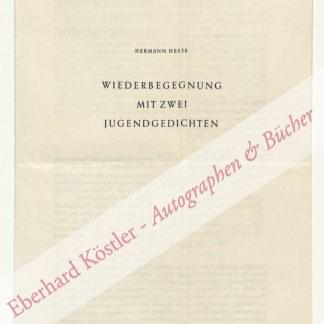 Hesse, Hermann,  .