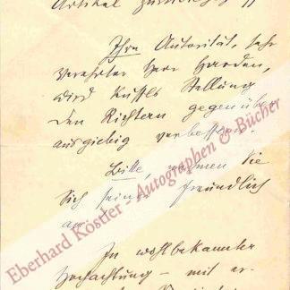 Roda Roda (d. i. Sandor Friedrich Rosenfeld), Schriftsteller (1872-1945).