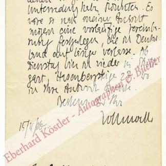 Vollmoeller, Karl, Archäologe und Schriftsteller (1878-1948).