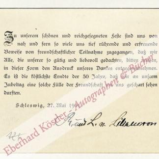 Liliencron, Rochus von, Germanist (1820-1912).