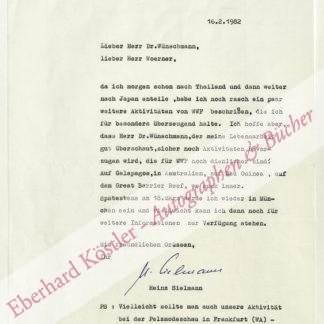 Sielmann, Heinz, Tierfilmer und Publizist (1917-2006).