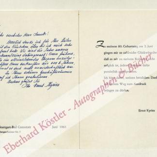 Kyriss, Ernst, Einbandforscher (1881-1974).