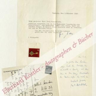 Wunderlich, Paul, Maler und Bildhauer (1927-2010).