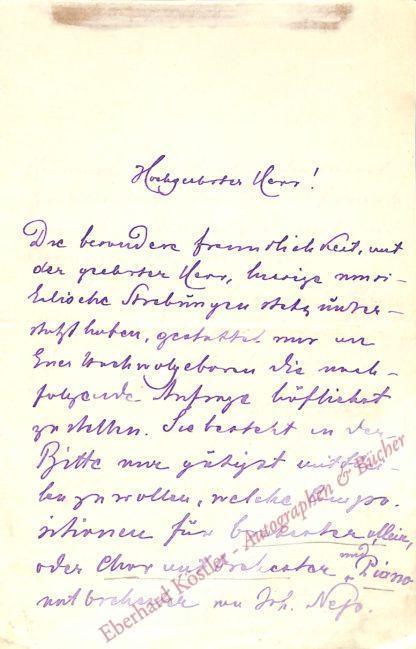 Batka, Johann Nepomuk, Archivar (1845-1917).