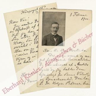 Matthison-Hansen, Aage, Schriftsteller und Herausgeber (1864-1938).
