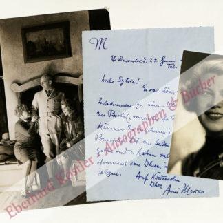 Mewes, Anni, Schauspielerin (1895-1980).