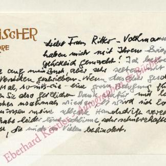 """Fischer, Brigitte """"Tutti"""" Bermann, Verlegerin (1905-1991)."""