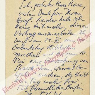 Walser, Martin, Schriftsteller (geb. 1927).