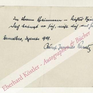 Kreutz, Rudolf Jeremias, Schriftsteller (1876-1949).