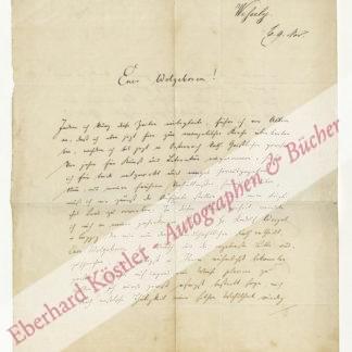 Wessely, Ignaz Emanuel, Philologe und Übersetzer (1841-1900).