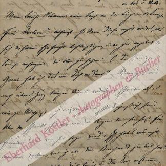 Birch-Pfeiffer, Charlotte, Schauspielerin und Schriftstellerin (1800-1868).