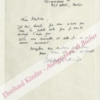 Haubenstock-Ramati, Roman, Komponist (1919-1994).