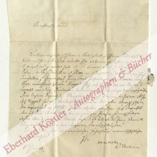 Jenison zu Walworth, Franz Oliver von, Diplomat (1787- 1867).