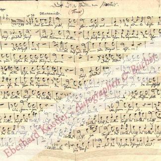 Silcher, Friedrich, Komponist (1789-1860).