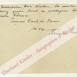 Knote, Heinrich, Kammersänger (1870-1953).