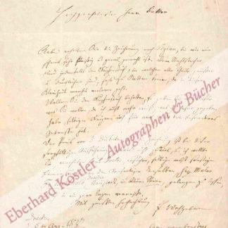 Richter, Ludwig, Maler und Graphiker (1803-1884).