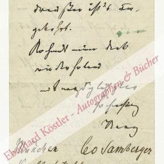 Samberger, Leo, Maler (1861-1949).