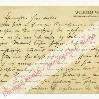 Weigand, Wilhelm, Schriftsteller (1862-1949).