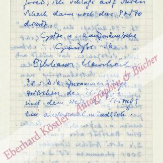 Henscheid, Eckhard, Schriftsteller (geb. 1941).