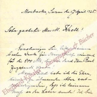 Lagerlöf, Selma, Schriftstellerin und Nobelpreisträgerin (1858-1940).