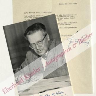 Schreyvogl, Friedrich, Schriftsteller (1899-1976).