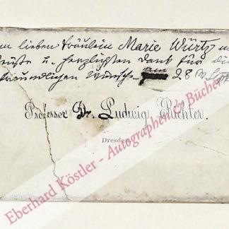 Richter, Ludwig, Maler und Graphiker (1803 - 1884).