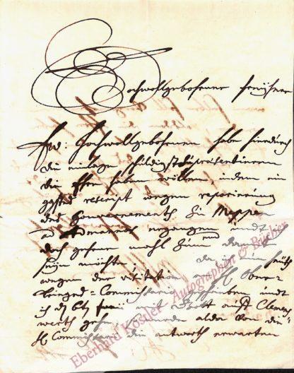 Schlaun, Johann Conrad, Baumeister und Gouverneur von Meppen (1695-1773).