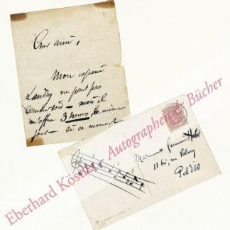 Charpentier, Gustave, Komponist (1860-1956).