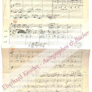 Delannoy, Marcel, Komponist (1898-1962).