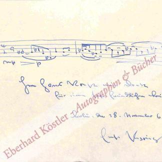 Pepping, Ernst, Komponist (1901-1981).