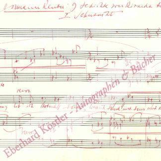 Reutter, Hermann, Komponist und Pianist (1900-1985).