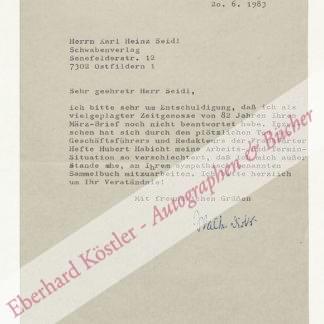 Dirks, Walter, Schriftsteller (1901-1991).