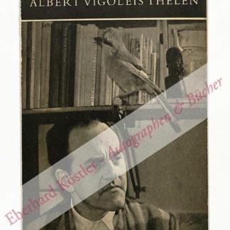 Thelen, Albert Vigoleis -  Morriën, Adriaan, Schriftsteller (1912-2002).
