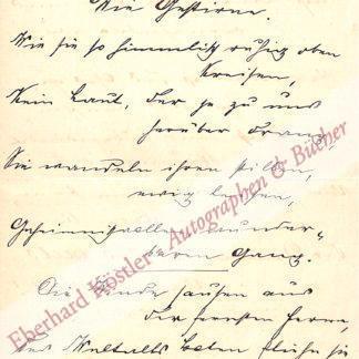 Waldmüller-Duboc, Robert, Schriftsteller (1822-1910).